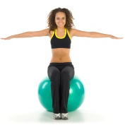 Working Out With Exercise Balls