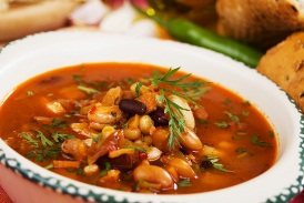Low Fat Soup Recipes - Vegetarian Chili Soup